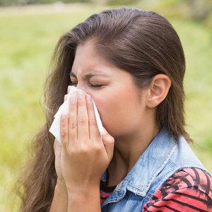 Allergie beim Rasenmähen